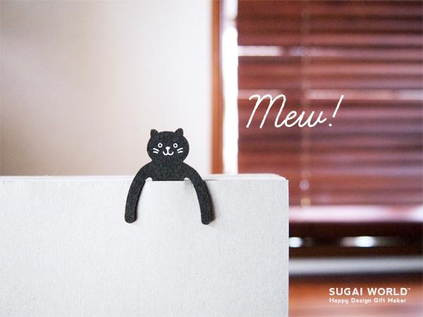Clipfamily cat ねこ 紙クリップ ファミリー